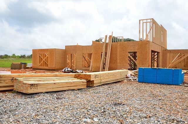 dřevostavba, budování domku