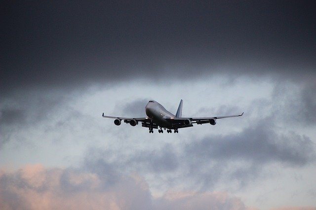 velké letadlo