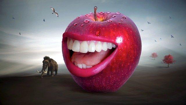 červená ústa