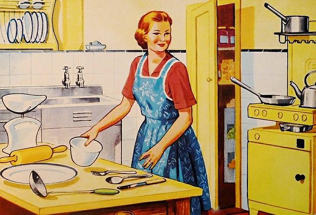 retro kuchařka